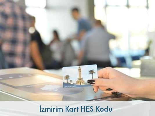 İzmirim Kart HES Kodu